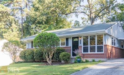 Atlanta Single Family Home New: 1210 Ogilvie Dr