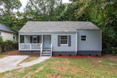 Atlanta Single Family Home New: 1758 Leslie