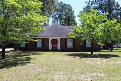 Statesboro Single Family Home New: 127 Pine Bluff Dr