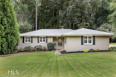 Cobb County Single Family Home New: 2790 Sagamore Hill Drive