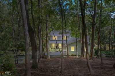 Cobb County Single Family Home New: 3250 Burnt Hickory Rd