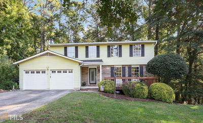 Cobb County Single Family Home New: 4610 N Landing Trace