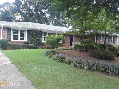 Fulton County Single Family Home New: 6865 Heathfield Dr