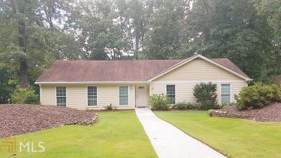 Marietta Single Family Home New: 2860 Canton Hills Dr