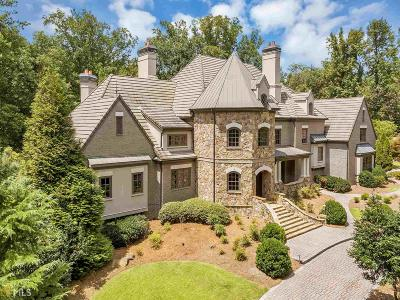Johns Creek GA Single Family Home For Sale: $2,400,000