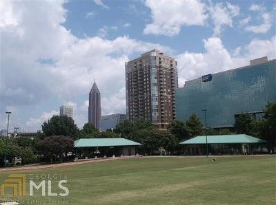 Museum Tower Condo/Townhouse Under Contract: 285 Centennial Olympic Park Dr #2206