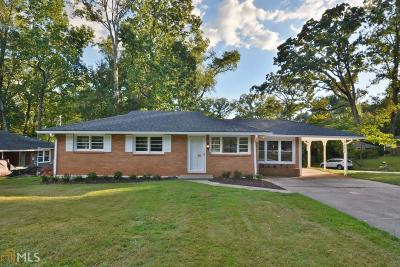 Decatur Single Family Home New: 2657 Woodridge Dr