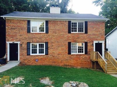 Stone Mountain Multi Family Home New: 5306 Stonebush Terr