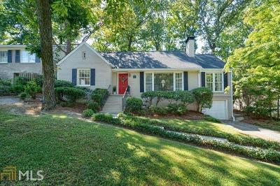 Atlanta Single Family Home New: 165 Beverly Rd