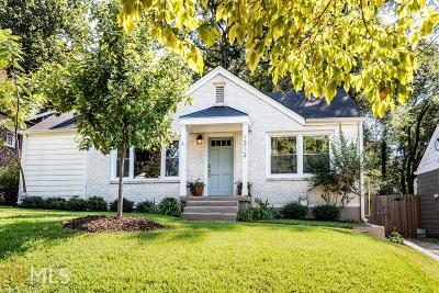 Atlanta Single Family Home New: 1312 Beecher Street SW