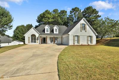 Newnan Single Family Home Under Contract: 72 Pebble Creek Dr