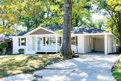 Atlanta Single Family Home New: 1511 Newton Ave