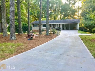 Marietta Single Family Home New: 2800 Bob Cox Rd