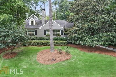 Atlanta Single Family Home Under Contract: 728 Wesley Drive NW