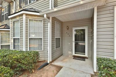 Coweta County Condo/Townhouse Under Contract: 293 Smokewood