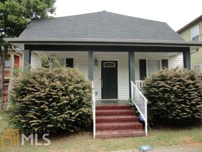 Atlanta Single Family Home New: 651 Delbridge St
