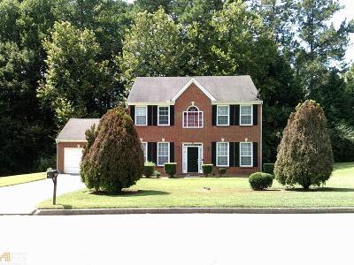 Stone Mountain Single Family Home New: 691 Stonecreek Way