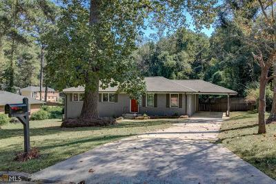 Decatur Single Family Home New: 3463 Springlake Dr