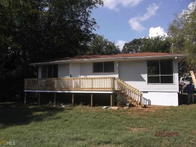 Habersham County Single Family Home Under Contract: 2901 Alto Mud Creek Rd
