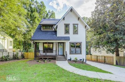 Decatur Single Family Home For Sale: 1476 Catherine St