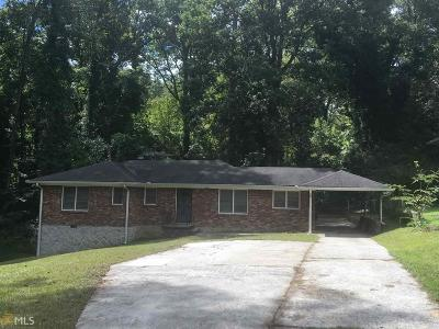 Atlanta Single Family Home New: 2087 Barge Road