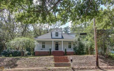 Monticello Single Family Home New: 1024 Eatonton Street