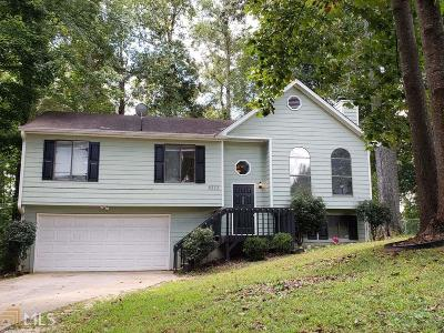 Snellville Single Family Home New: 8373 Lake Dr