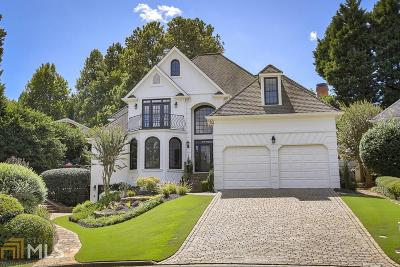 Johns Creek Single Family Home New: 1290 Vintage Club Dr