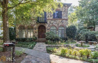 Kennesaw Single Family Home Under Contract: 1424 Hedgewood Ln #10