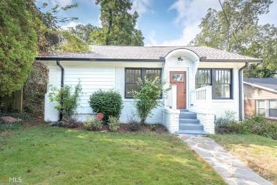 Atlanta Single Family Home New: 1570 Olympian