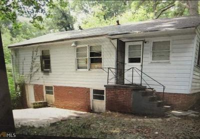 Atlanta Single Family Home New: 2000 SW Marvin
