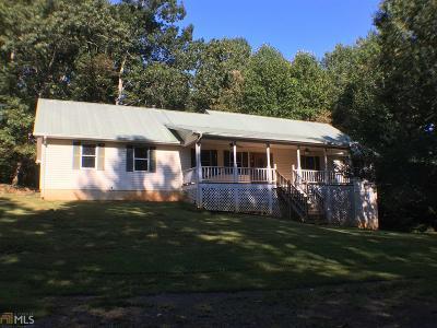 Habersham County Single Family Home Under Contract: 1675 Jess Kinney