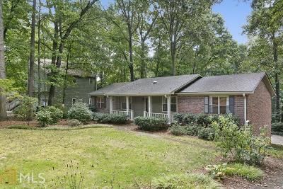Smyrna Single Family Home New: 800 Reed Road SE