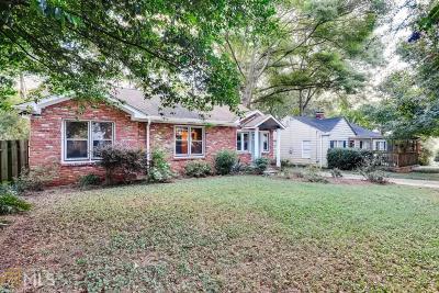 Atlanta Single Family Home New: 73 Daniel Ave