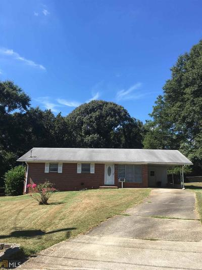 Rockdale County Single Family Home New: 1141 Crestview Cir