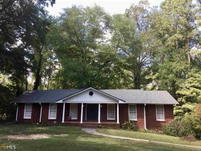 Clayton County Single Family Home New: 1923 Bethsaida Rd