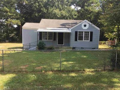 Clayton County Single Family Home New: 4620 Ernest Dr