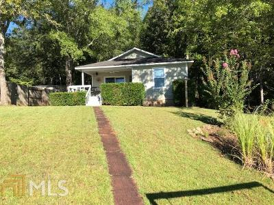 Milledgeville, Sparta, Eatonton Single Family Home For Sale: 244 Anchor Pointe Dr