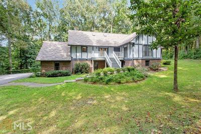 Marietta Single Family Home New: 3740 Burnt Hickory Rd