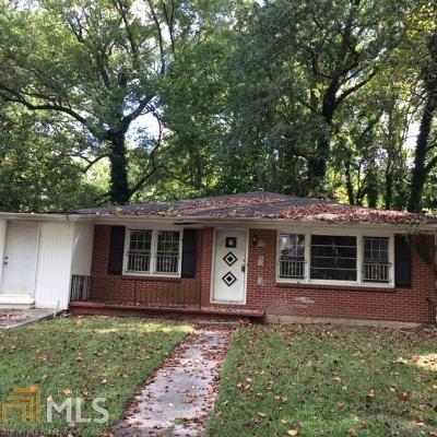 Atlanta Multi Family Home New: 1446 Akridge Street NW
