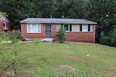 Atlanta Single Family Home New: 858 Bolton Pl