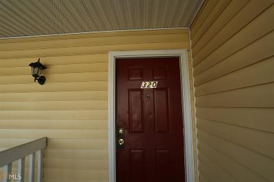 Statesboro Condo/Townhouse New: 222 Lanier Dr #320
