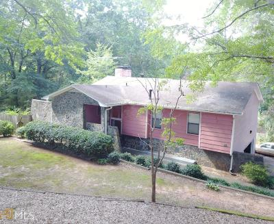 Griffin Single Family Home New: 599 Lakewood Dr