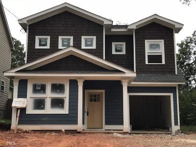 Avondale Estates Single Family Home New: 266 3rd Ave
