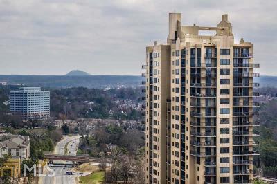 Atlanta Condo/Townhouse New: 3481 Lakeside Dr #1705
