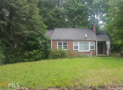 Atlanta Single Family Home New: 1546 Beatie Avenue SW