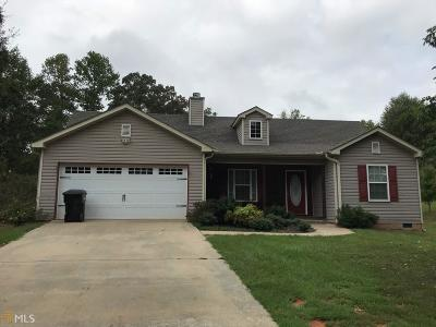 Hartwell GA Single Family Home Under Contract: $159,900