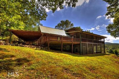 Fannin County Single Family Home Under Contract: 1132 Green Ridge Rd