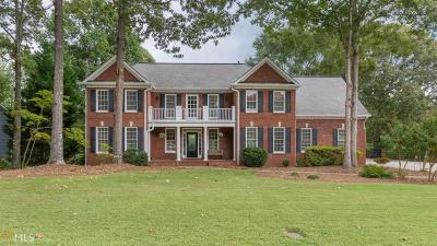 Suwanee Single Family Home Under Contract: 5485 Overbend Trl