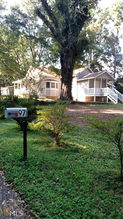 Newnan Single Family Home New: 97 Raymond Carson St
